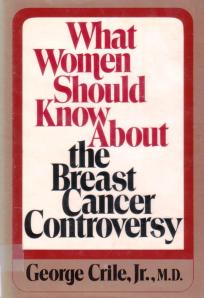 Look for cutting edge research on breast cancer in this gem from 1980!