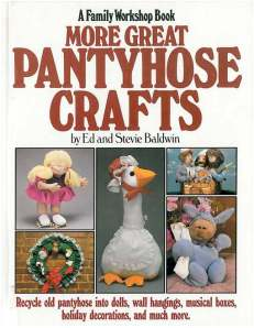 pantyhose crafts