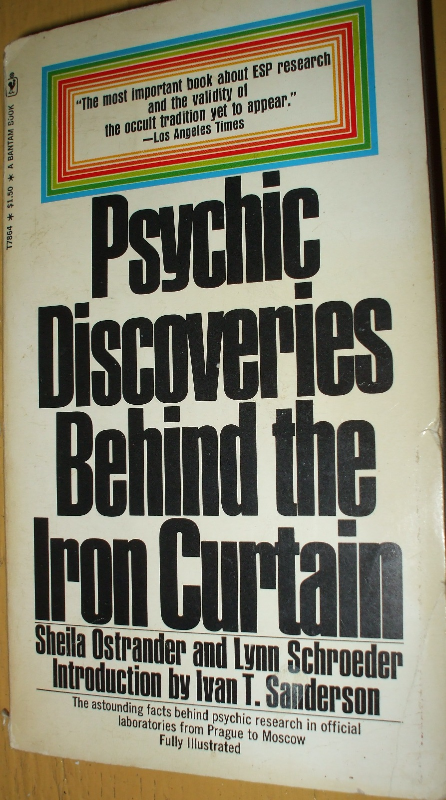 Curtain behind the curtain book - Psychic Discoveries Behind The Iron Curtain Ostrander And Schroeder 1970 Interesting That The L A Times Said This Book