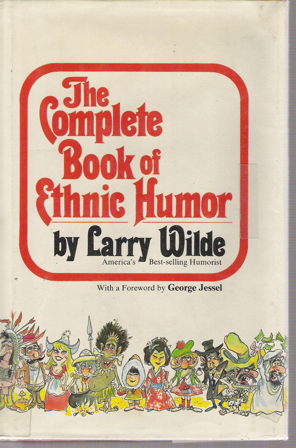 ethnic humor books jokes joke racist library fashioned favorites dolly shared