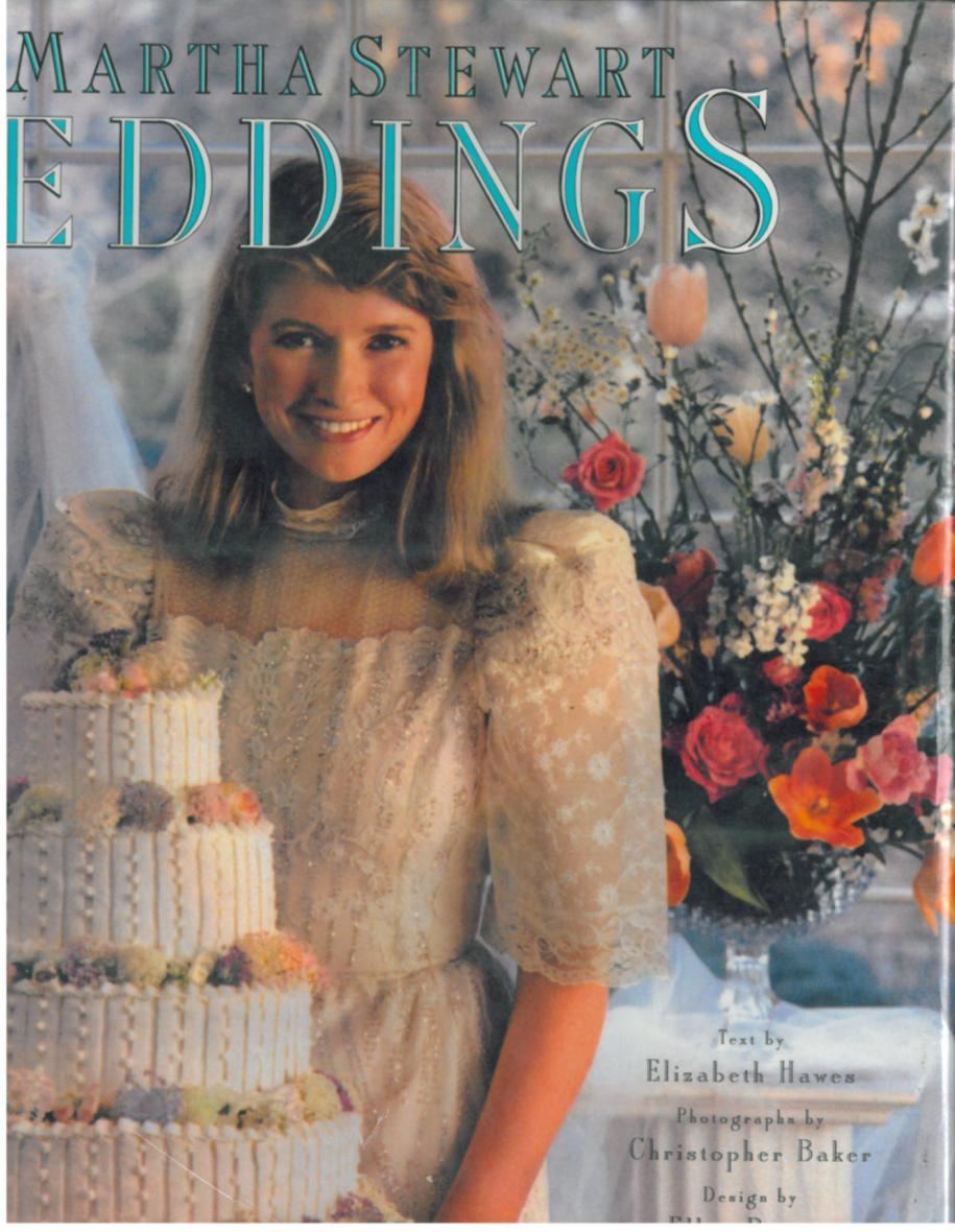 Martha Stewart Weddings 1987