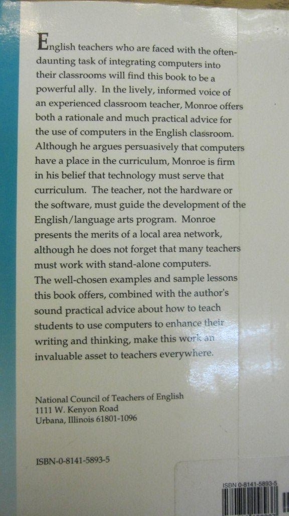 books or computers essay Daniel akst essay on computer programs that can write, mostly nonfiction prose but occasionally fiction as well offers snippets of fiction written by.