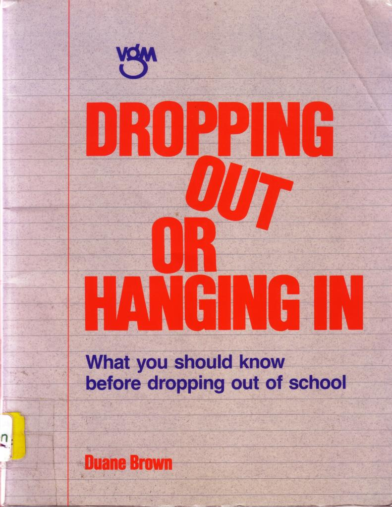 dropping out of college Learn the results of a study of differences between students who graduate college and students who drop out and find out the primary reason why some students drop out of college.